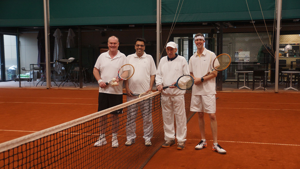 T.C. Machelen-Diegem retro tennis
