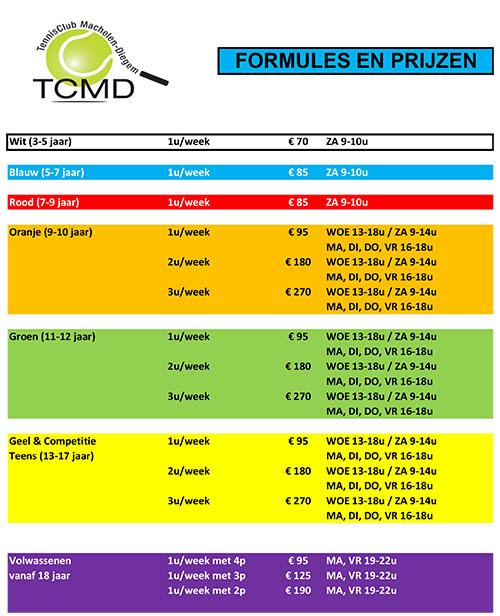 T.C. Machelen-Diegem lentelessen 2021